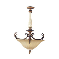 Maxim Lighting Cumberland 3 Light Pendant in Savanna Bronze 20863TESB photo thumbnail