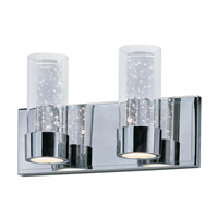 Sync LED 14 inch Polished Chrome Bath Vanity Wall Light