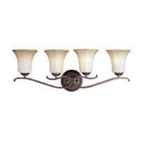 Maxim Lighting Chelsea 4 Light Bath Light in Weathered Russet 20992WSWR photo thumbnail