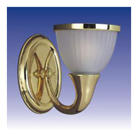 Maxim Lighting Signature 1 Light Wall Sconce in Polished Brass 21031FTPB