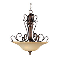 Maxim Lighting Sausalito 3 Light Pendant in Filbert 21123MCFL