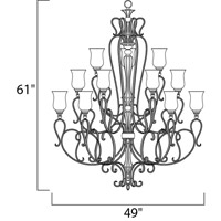 Maxim Lighting Sausalito 15 Light Multi-Tier Chandelier in Filbert 21127MCFL alternative photo thumbnail