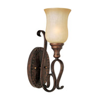 Maxim Lighting Sausalito 1 Light Wall Sconce in Filbert 21131MCFL