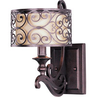 Maxim Lighting Mondrian 1 Light Wall Sconce in Umber Bronze 21152WHUB