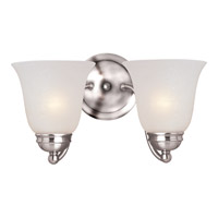 Basix 2 Light 14 inch Polished Chrome Wall Sconce Wall Light in Ice