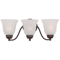 Maxim Lighting Basix 3 Light Bath Light in Oil Rubbed Bronze 2122ICOI