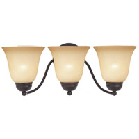 Maxim Lighting Basix 3 Light Bath Light in Oil Rubbed Bronze 2122WSOI