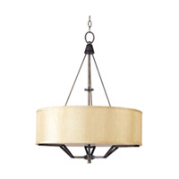 Maxim Lighting Avant 3 Light Pendant in Golden Auburn 21253CHGA photo thumbnail