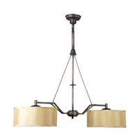 Maxim Lighting Avant 2 Light Island Pendant in Golden Auburn 21259CHGA