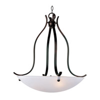 Maxim Lighting Contour 3 Light Pendant in Oil Rubbed Bronze 21263FTOI