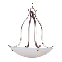 Maxim Lighting Contour 3 Light Pendant in Satin Nickel 21263FTSN