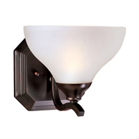 Maxim Lighting Contour 1 Light Wall Sconce in Oil Rubbed Bronze 21271FTOI