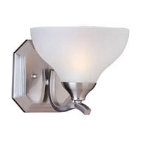 Maxim Lighting Contour 1 Light Wall Sconce in Satin Nickel 21271FTSN