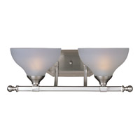 Maxim Lighting Contour 2 Light Bath Light in Satin Nickel 21272FTSN