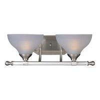 Maxim 21272FTSN Contour 2 Light 19 inch Satin Nickel Bath Light Wall Light