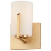 Maxim 21281SWSBR Dart 1 Light 6 inch Satin Brass Wall Sconce Wall Light