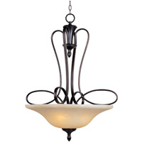 Maxim 21303WSOI Infinity 3 Light 27 inch Oil Rubbed Bronze Pendant Ceiling Light