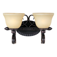 Infinity 2 Light 16 inch Oil Rubbed Bronze Bath Light Wall Light