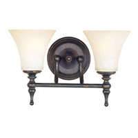 Maxim Lighting Bristol 2 Light Wall Sconce in Black Gold 21328JFBG