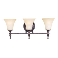 Maxim Lighting Bristol 3 Light Bath Light in Black Gold 21329JFBG