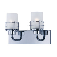 Tier 2 Light 14 inch Polished Chrome Vanity Light Wall Light