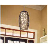 Meridian 2 Light 14 inch Umber Bronze Pendant Ceiling Light