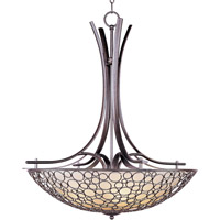 Maxim Lighting Meridian 4 Light Pendant in Umber Bronze 21344DWUB