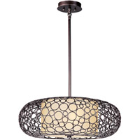 Meridian 2 Light 25 inch Umber Bronze Pendant Ceiling Light