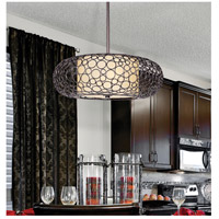Maxim Lighting Meridian 2 Light Pendant in Umber Bronze 21347DWUB alternative photo thumbnail