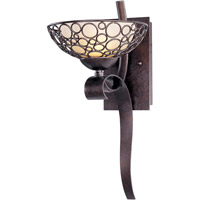 Meridian 1 Light 8 inch Umber Bronze Wall Sconce Wall Light