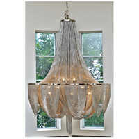 Maxim Lighting Chantilly 10 Light Single Tier Chandelier in Polished Nickel 21465NKPN alternative photo thumbnail