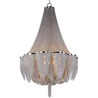 Maxim Lighting Chantilly 14 Light Single Tier Chandelier in Polished Nickel 21467NKPN