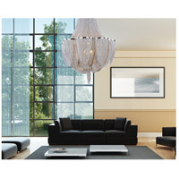Maxim Lighting Chantilly 14 Light Multi-Tier Chandelier in Polished Nickel 21468NKPN
