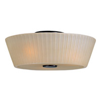 Maxim Lighting Finesse 3 Light Flush Mount in Oil Rubbed Bronze 21500DWOI