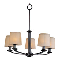 Maxim Lighting Finesse 5 Light Multi-Tier Chandelier in Oil Rubbed Bronze 21505DWOI