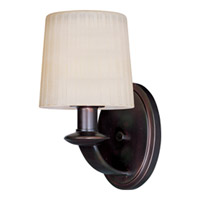 Maxim Lighting Finesse 1 Light Wall Sconce in Oil Rubbed Bronze 21507DWOI