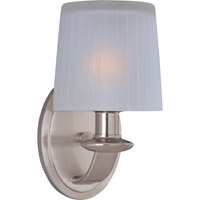 Maxim Lighting Finesse 1 Light Wall Sconce in Satin Nickel 21507FTSN