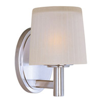 Maxim Lighting Finesse 1 Light Bath Vanity in Satin Nickel 21511FTSN