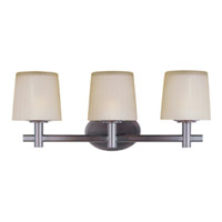 Maxim Lighting Finesse 3 Light Bath Light in Oil Rubbed Bronze 21513DWOI