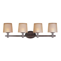 Maxim Lighting Finesse 4 Light Bath Light in Oil Rubbed Bronze 21514DWOI