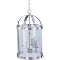Maxim Lighting Tara 4 Light Pendant in Satin Nickel 21550CLSN