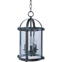 Maxim Lighting Tara 3 Light Pendant in Bronze 21552CLBZ