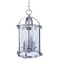 Maxim Lighting Tara 3 Light Pendant in Satin Nickel 21552CLSN