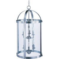 Maxim Lighting Tara 6 Light Pendant in Satin Nickel 21554CLSN