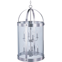 Maxim Lighting Tara 8 Light Pendant in Satin Nickel 21556CLSN