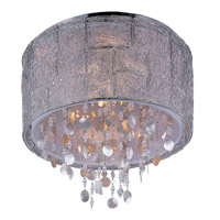 Maxim Lighting Allure 5 Light Flush Mount in Polished Nickel 21560TWPN photo thumbnail