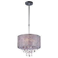 Allure 5 Light 16 inch Polished Nickel Single Pendant Ceiling Light
