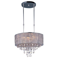Maxim 21565TWPN Allure 9 Light 22 inch Polished Nickel Single Pendant Ceiling Light