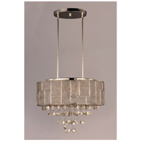 Maxim 21565TWPN Allure 9 Light 22 inch Polished Nickel Single Pendant Ceiling Light alternative photo thumbnail