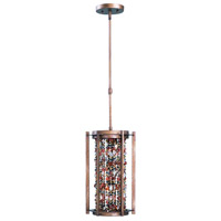 Maxim Lighting Trinket 3 Light Single Pendant in Chestnut 21574CT